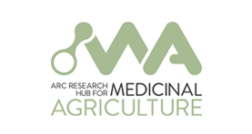 ARC Research Hub for Medicinal Agriculture (logo)