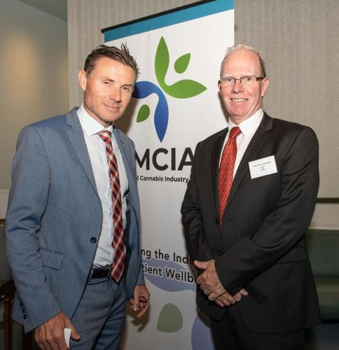 Peter Crock Chair MCIA & Andrew Laming, MP