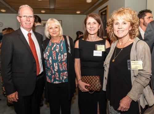 Peter Crock Chair MCIA, Carol Ireland Epilepsy Australia, Teresa Nicoletti Mills Oakley, Lucy Hallam United in Compassion