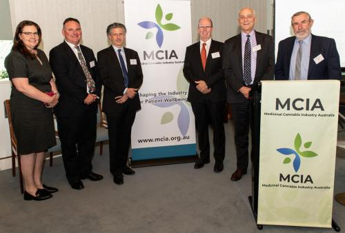 MCIA members at the launch